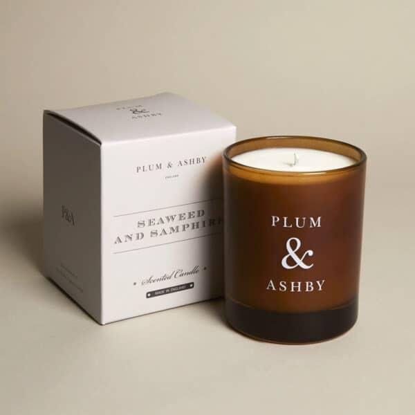 plum ashby seaweed samphire candle