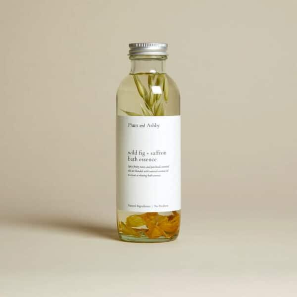 plum ashby wild fig saffron bath essence