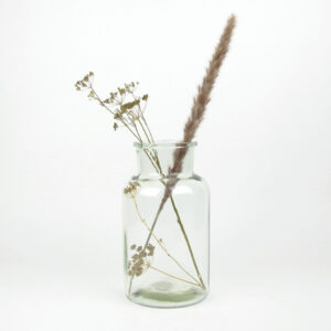 alea bottle clear med dried umbels