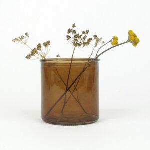 alea vase small amber lona