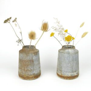 bennu mini straight vase dried flowers