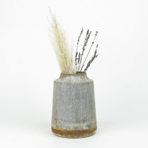 bennu mini straight vase dried pampas