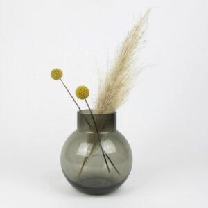bubblan vase grey pampas