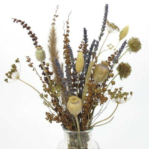 dried lavender bouquet vase zoom