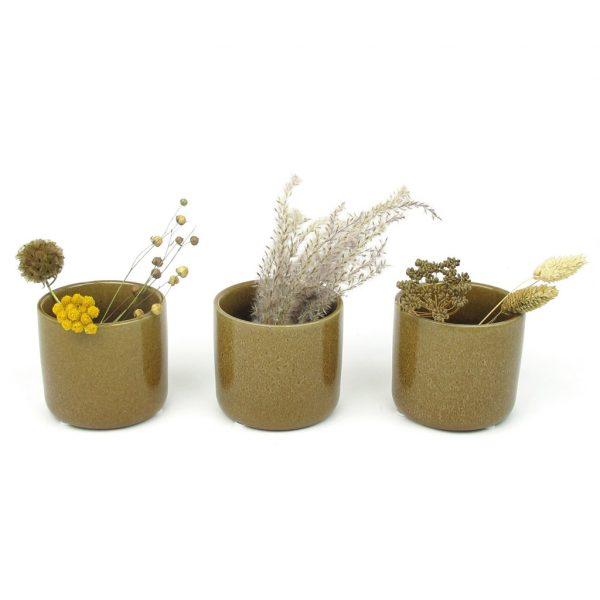 maja ceramic mini pot trio