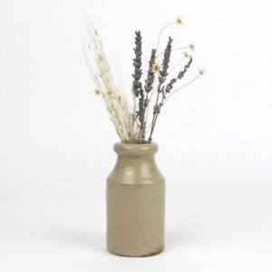 original earthenware pot dried lavender