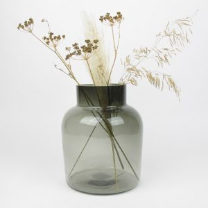 smoked vase dried umbels