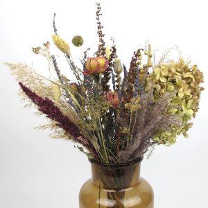 dried flower bouquet vintage large