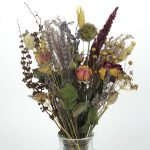 dried flower bouquet vintage small
