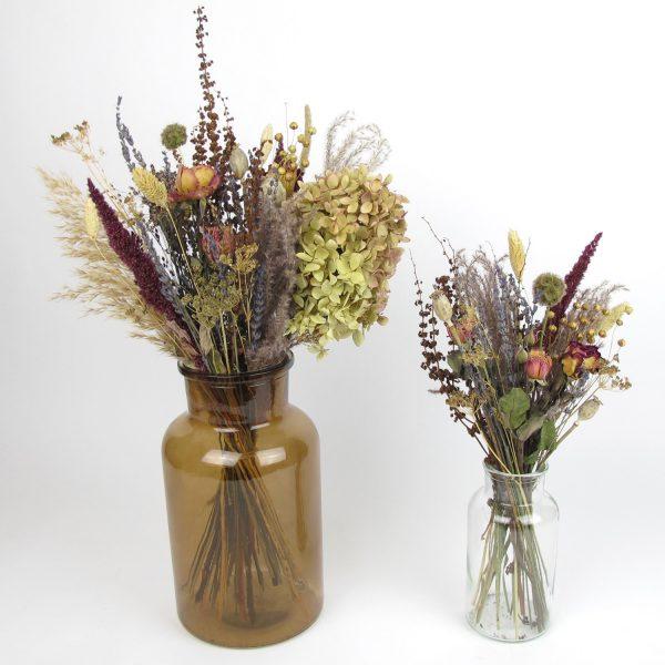 dried flower bouquet vintage
