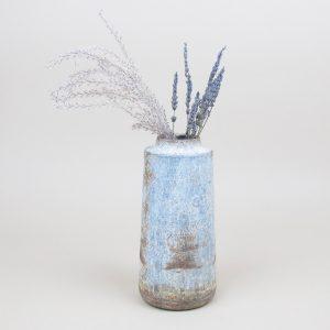 bennu vase miscanthus lavender