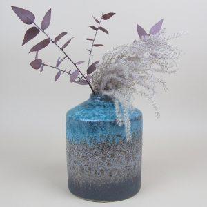 julie vase miscanthus eucalyptus