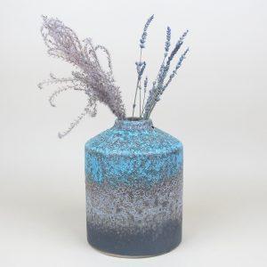 julie vase miscanthus lavender