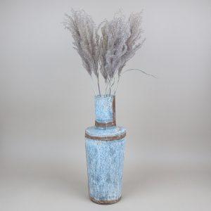 bennu bottle vase miscanthus