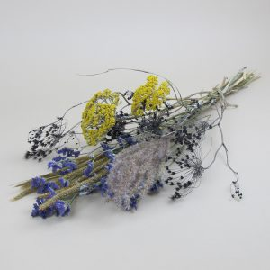 primary simple dried flower bouquet flat