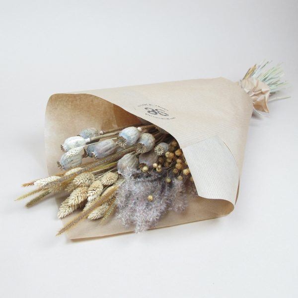dried flower simple bouquet classic